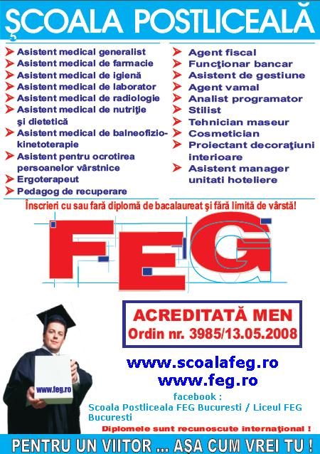 Scoala FEG